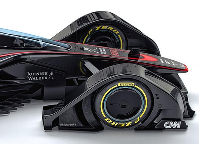 McLaren Unveils New MP4-X Formula One Concept Car