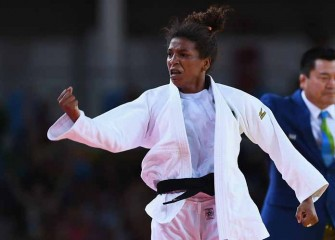Rafaela Silva Wins Brazil's First Gold In Rio