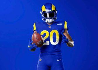 L.A. Rams Unveil New Uniforms