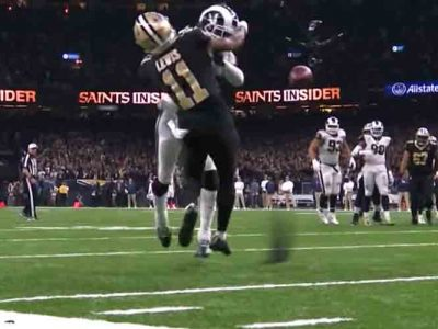 NFL Announces New Pass Interference Rule, Allowing Official Reviews In Final 2 Minutes