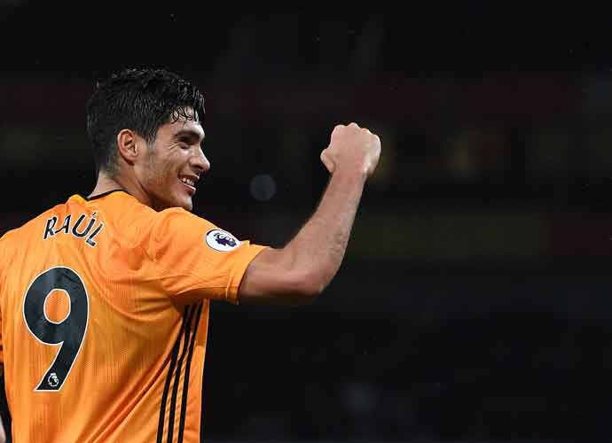 Wolves' Player Raul Jimenez Comes Off Injured During Arsenal Game