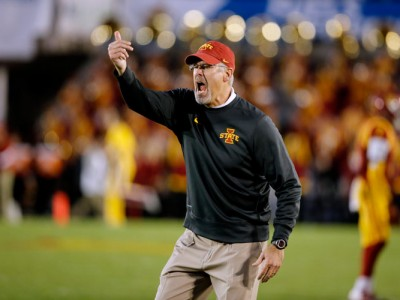 Iowa State Football Coach Paul Rhoads Fired