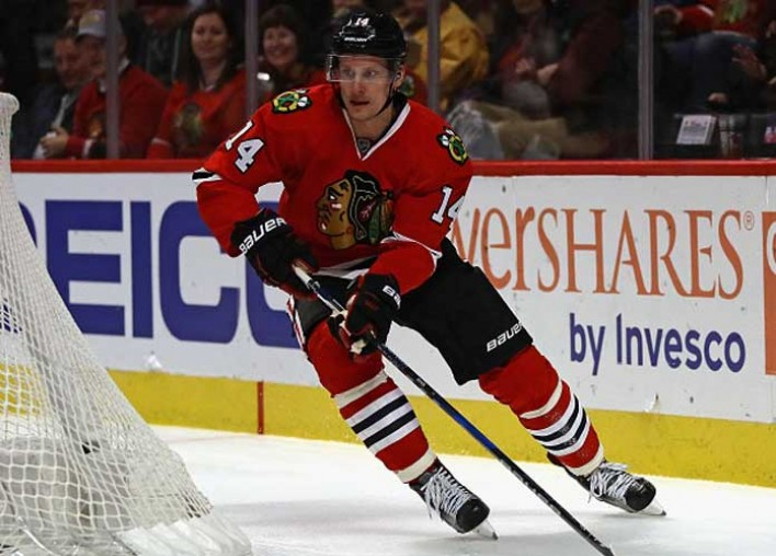 Watch: Blackhawks' Richard Panik Scores Potential 'Goal Of The Year' Candidate In 4-1 Win Over Penguins