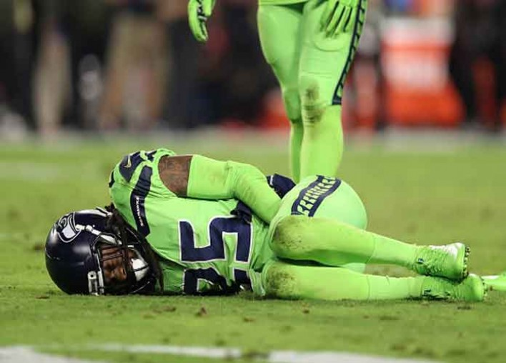 Watch: Richard Sherman Gets Emotional While Discussing Season-Ending Torn Achilles