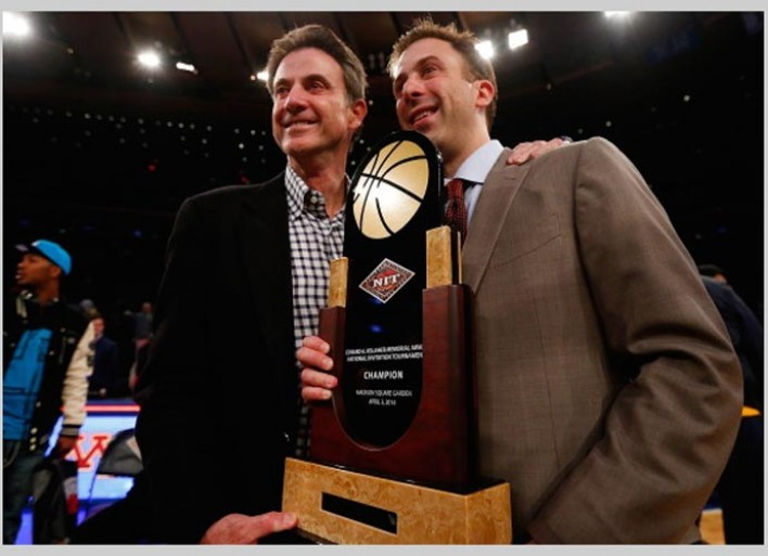 NCAA Suspends Rick Pitino Five Games As Penalty For Escort Scandal