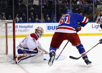 NHL Playoffs: Rick Nash, Rangers Tie First-Round Series 2-2 With 2-1 Win Over Canadiens