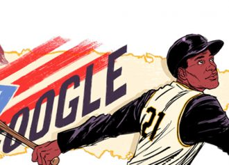 Google Honors MLB Legend Roberto Clemente With New Doodle