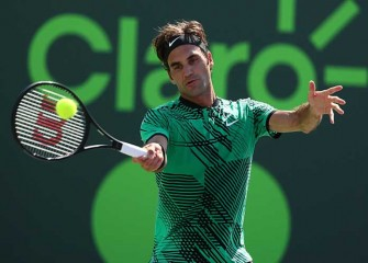 Roger Federer Advances To Fourth Round Of Miami Open With Win vs Juan Martin Del Potro
