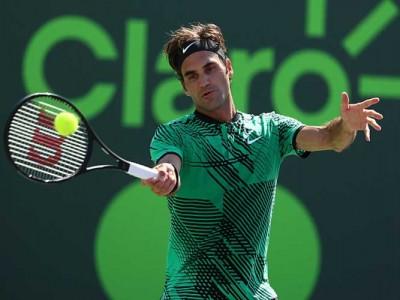 Roger Federer Advances To Fourth Round Of Miami Open With Win vs Juan Martin Del Potro