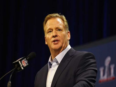 Roger Goodell Returns To Gillette Stadium For First Time Since Deflate-gate [PHOTO]