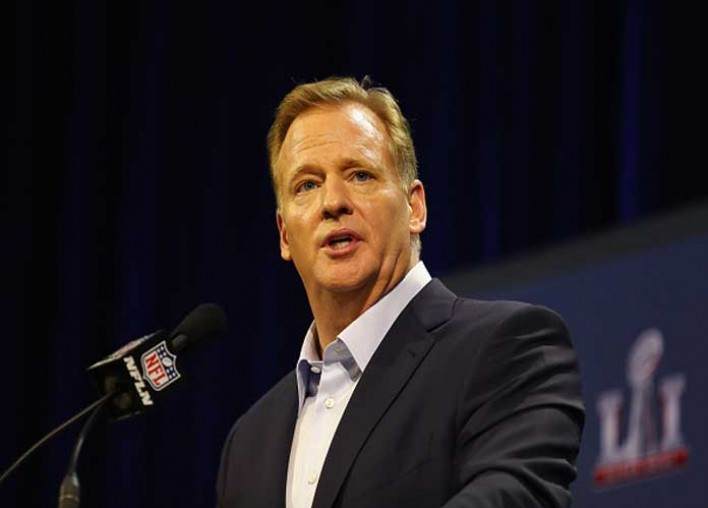 Roger Goodell, NFL Owners Switch Stance On National Anthem After Trump Threats