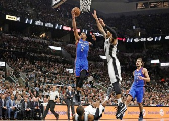Russell Westbrook Propels Thunder To 95-91 Win Over Spurs For 3-2 Series Lead