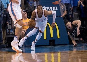 Russell Westbrook Scores 30 In Thunder's 105-103 Win Over Rockets