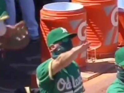 WATCH: A's Coach Ryan Christenson Apologizes After Joking With Nazi Salute