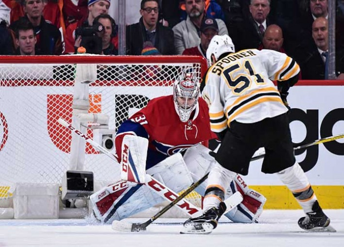 Bruins Blow Lead Late In Regulation, Then Top Canadiens 2-1 In OT