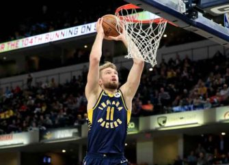 Domantas Sabonis With First Triple-Double Leads Pacers Past Nuggets
