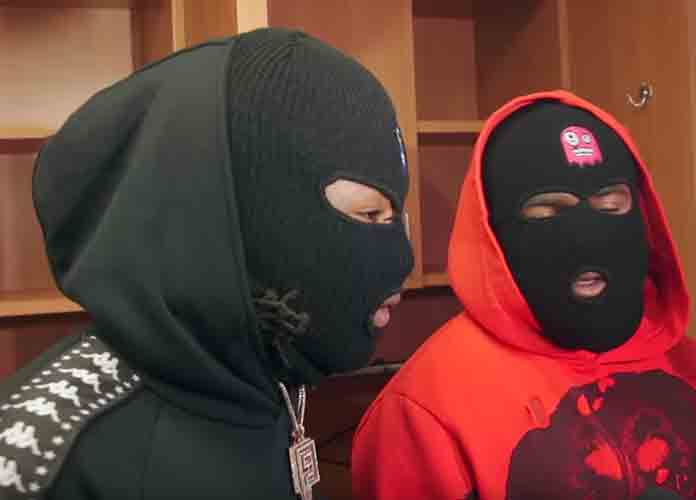"Saints Troll Eagles After Playoff Win With Ski Masks, Meek Mill Song ""Dreams And Nightmares"" [VIDEO]"