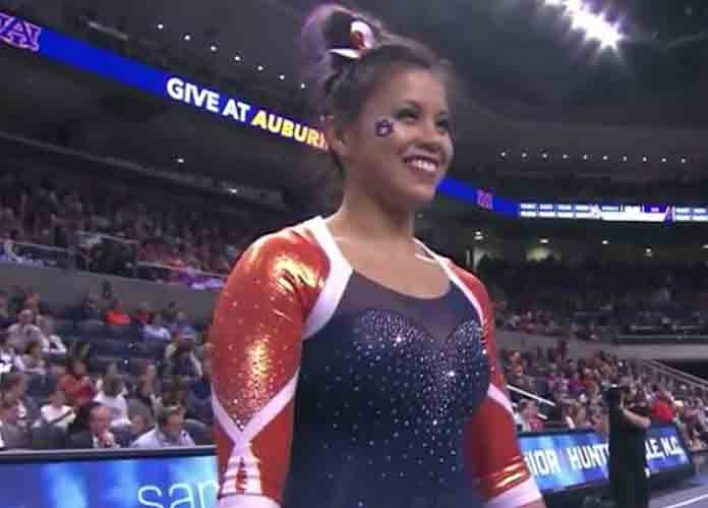 Star Auburn Gymnast Samantha Cerio Dislocates Both Knees And Retires From Sport