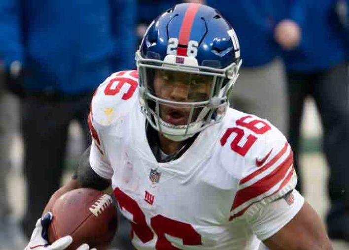 Giants Star Running Back Saquon Barkley Out 4-8 Weeks With High Ankle Sprain