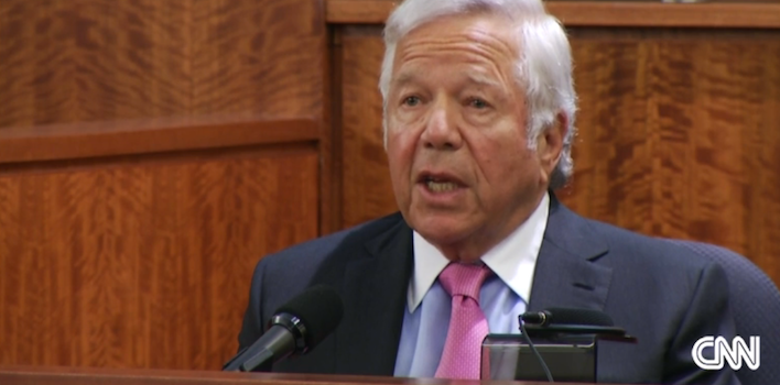 Patriots' Robert Kraft Testifies During Aaron Hernandez Trial