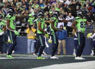Seattle Seahawks Wide Receivers Do Touchdown Dance In 37-30 Win Over Vikings