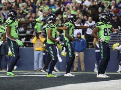 Seattle Seahawks Wide Receivers Do Touchdown Dance In 37-30 Win Over Vikings