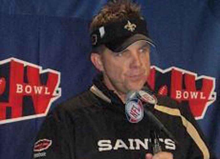 Saints' Coach Sean Payton Tests Positive For Coronavirus
