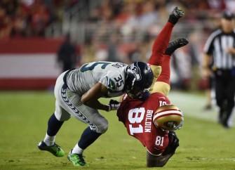 Seattle Seahawks Defeat 49ers In San Francisco