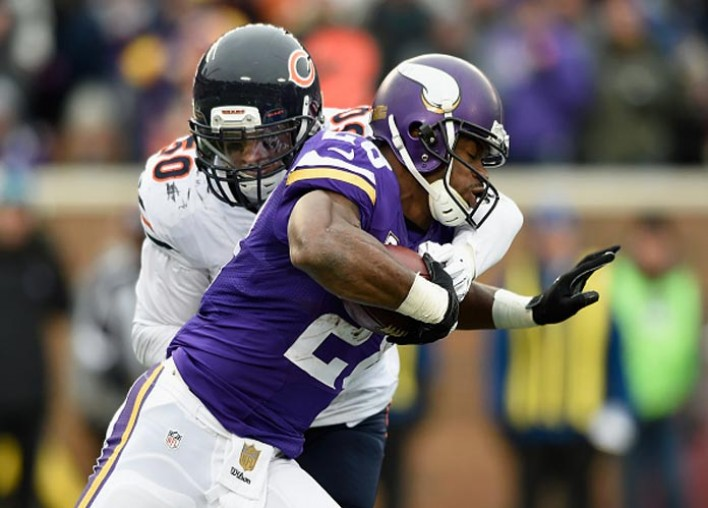 Vikings Adrian Peterson Pulled Hamstring Before Training Camp