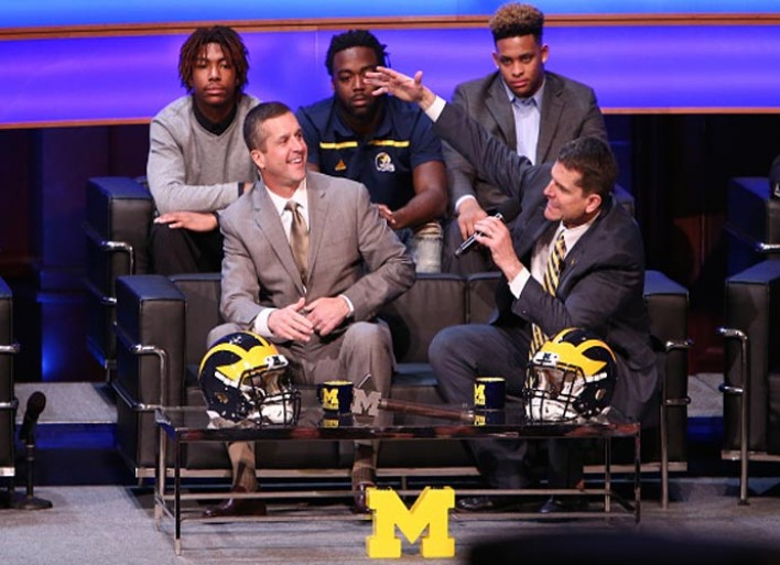 Jim Harbaugh Offers Scholarship To Hawaiian Eight-Grader