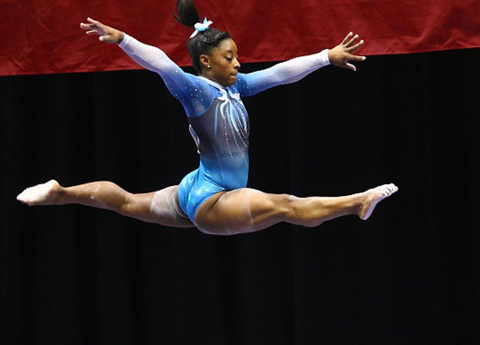 VIDEO: US Olympic Gymnast Simone Biles On Being Excluded From GOAT Lists