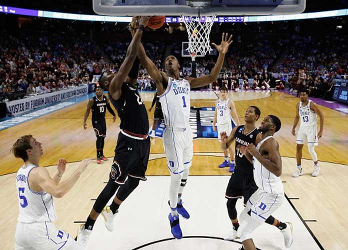 NCAA Tournament Weekend Recap: South Carolina Beats No. 2 Seed Duke 88-81, Michigan Tops No. 2 Seed Louisville, and More