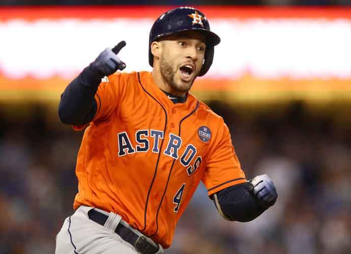Toronto Signs World Series MVP George Springer To Six-Year, $150 Million Deal