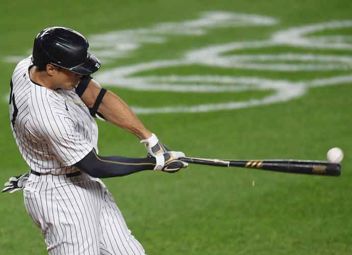 WATCH: Stanton Grand Slam Leads Yankees Past Rays In Game One