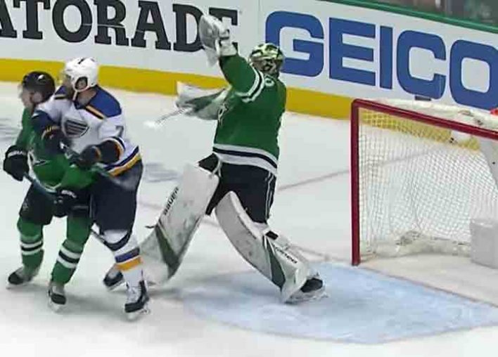 Hectic Game Seven Sees Blues Onto Conference Finals, Despite 300-1 Odds