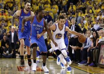 Warriors Avoid Elimination, Beat Thunder 120-111 In Game 5