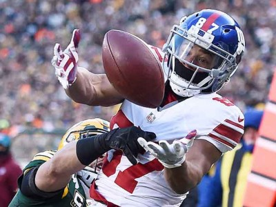 Watch: Giants WR Sterling Shepard Carted Off Training Camp Field After Ankle Injury