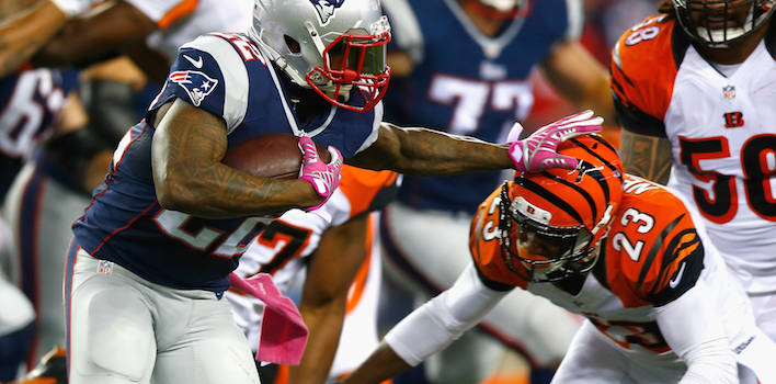 Former Patriot Stevan Ridley Signs With The New York Jets