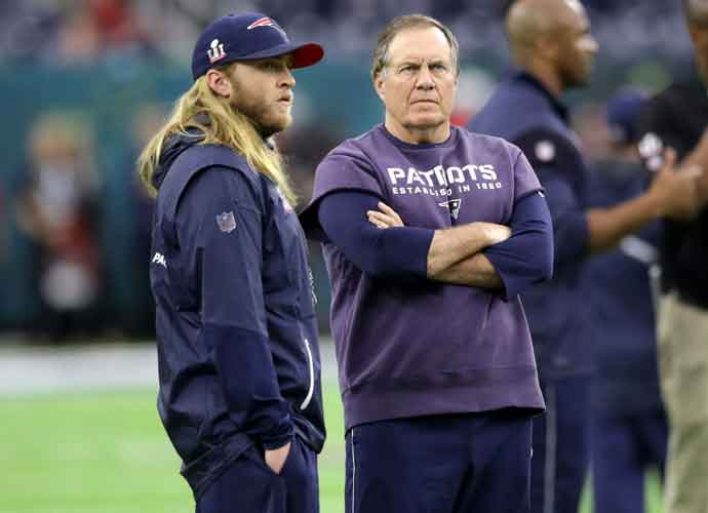 Steve Belichick Channels His Super Bowl Champ Dad Bill Belichick: 'Like Father, Like Son'