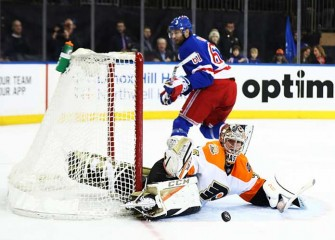 Steve Mason Makes 34 Saves In Flyers' 2-0 Win Over Rangers