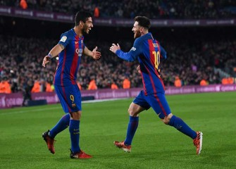 Luis Suarez, Lionel Messi Lead Barcelona To 4-1 Win Over Espanyol