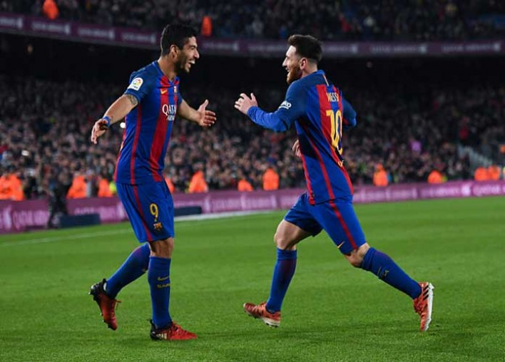 Luis Suarez Celebrates 30th Birthday With Highlight Reel Of Greatest Goals Scored In Barcelona Training
