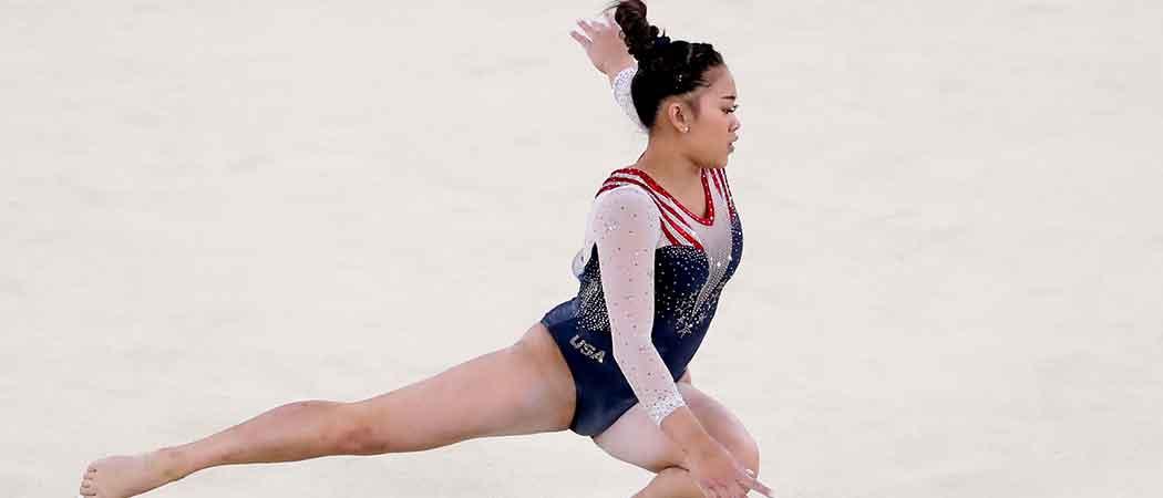Suni Lee Wins Gold For USA