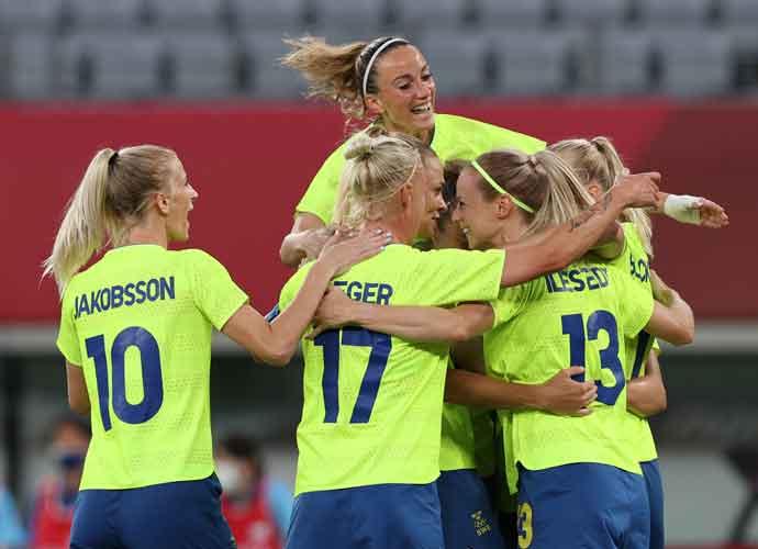 Sweden Blanks U.S. Women's National Soccer Team In Olympics Opener