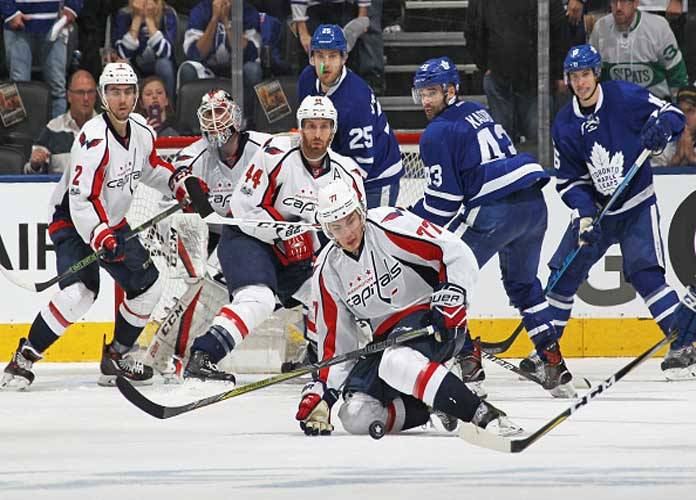 NHL Playoffs: T.J. Oshie, Tom Wilson Lead Capitals To 5-4 Game 4 Win Vs Maple Leafs To Tie Series 2-2