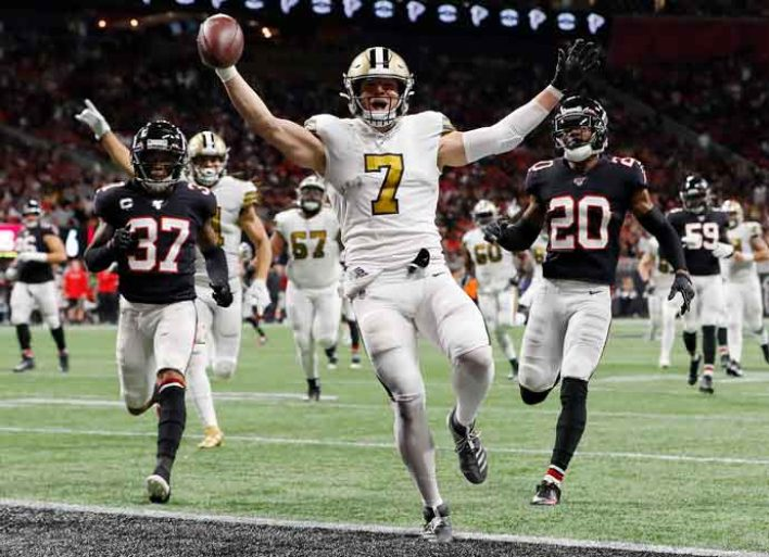 Saints Clinch Third Straight NFC South Title With Win Over Falcons