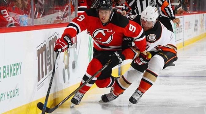 Taylor Hall Scores Twice In Devils' 2-1 Win Over Ducks