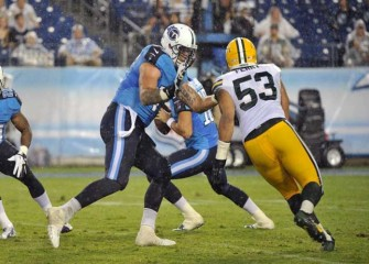 Titans' Taylor Lewan Ejected For Making Contact With Official; Defends Marcus Mariota