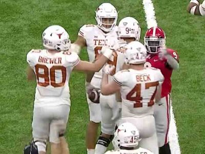 No. 15 Texas Beats No. 5 Georgia 28-21 In Allstate Sugar Bowl For 10th Win Of Season [VIDEO HIGHLIGHTS]