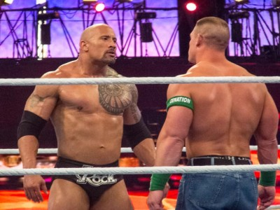 Watch: Dwayne 'The Rock' Johnson Calls CM Punk, Leaves Voicemail From Middle Of WWE Ring